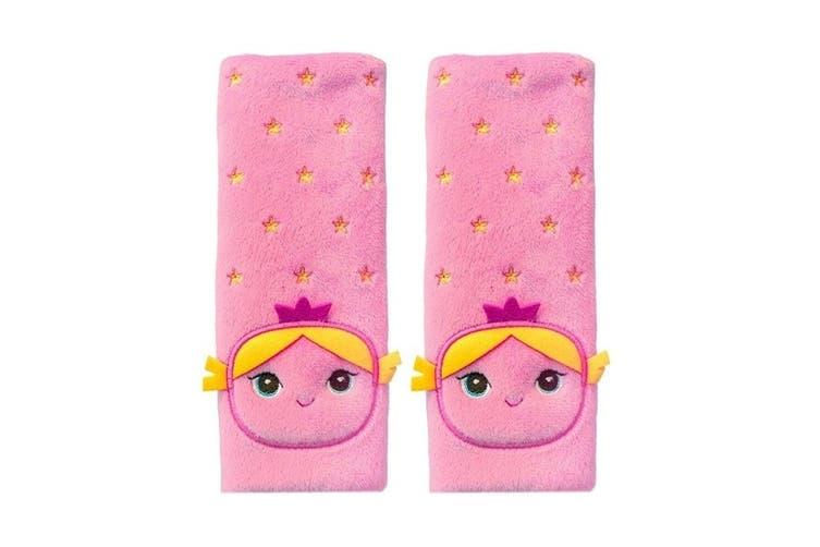 2PK Benbat Fairy Pals Car Seat Belt Safety Cover 1-4y Baby/Kids/Child Strap/Pads