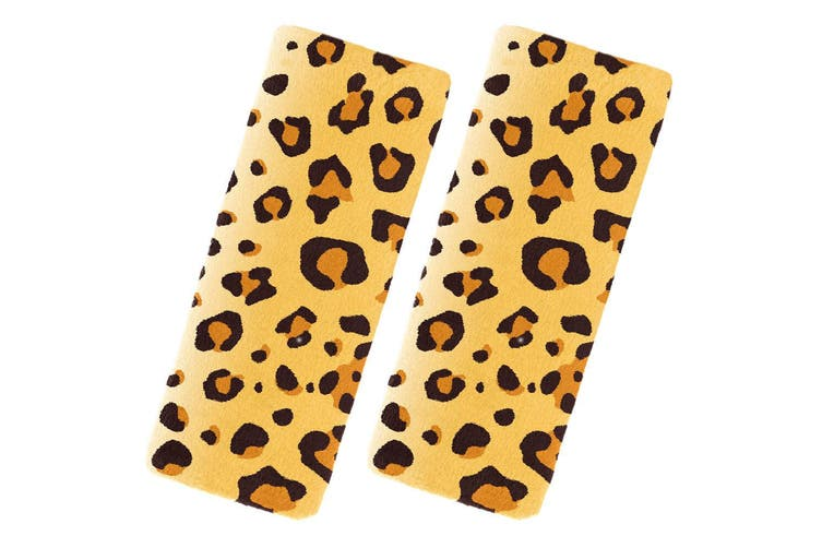 Benbat Leopard Pals Car Seat Belt Safety Strap/Cover/Pads 1-4y Baby/Kids/Toddler