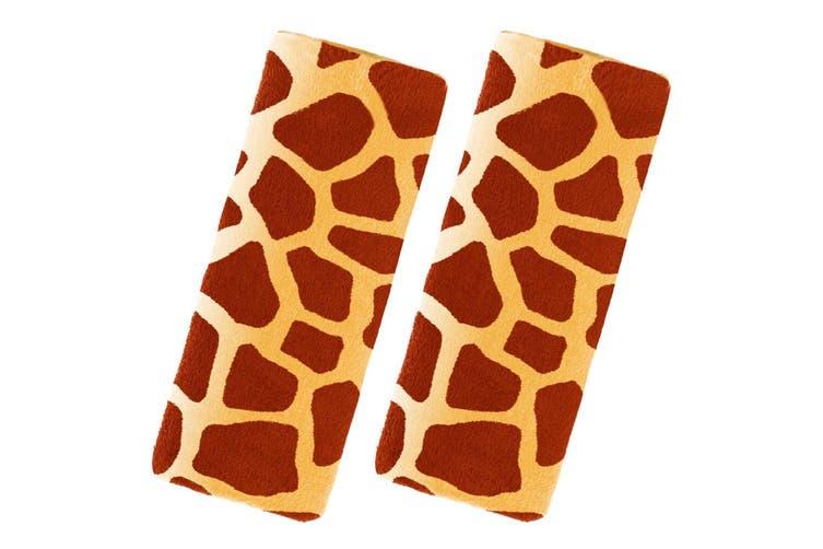 2PK Benbat Giraffe Pals Car Seat Belt Safety Strap/Cover/Pads 1-4y Baby/Toddler