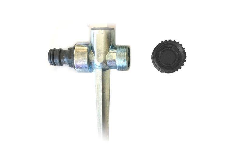 2PK Impulse Sprinkler Metal Water Lawn/Garden Spray/Irrigator/Watering for Hose