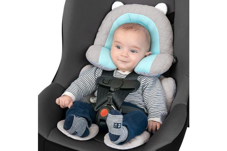 Benbat 3-in-1 Travel Friends Head/Body/Neck Support Pillow Baby/Infant 0m+ Blue