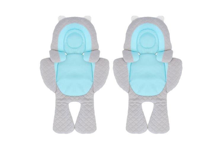 2PK Benbat 3-in-1 Travel Friends Head/Body/Neck Support Pillow Baby/Infant 0m+