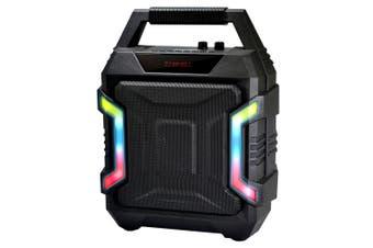 Sansai Bluetooth/Wireless 10W Speaker/FM Radio w/ AUX/USB Cable f/ Karaoke/Party