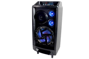 Portable 160W Bluetooth Speaker PA System/Amplifier/input for Guitar Mic/Battery