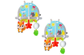 2PK Benbat Dazzle Double Sided Car Arch Activity Center Baby Infant Hanging Toys