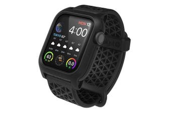 Catalyst 40mm Impact Case Band for Apple Watch Series 4/5 Stealth Black