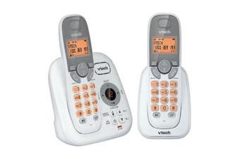 Vtech Dect Cordless/Wireless Volume Booster 2 Handsfree Phone w/ NBN Ready White