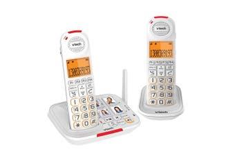 2pc VTech CLS17451 Handset CareLine DECT6.0 Home/WiFi Cordless Phone w/ VSMART