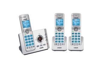 Vtech 17550 Triple Handset Dect6.0 Cordless/Wireless Phone w/ MobileConnect WHT