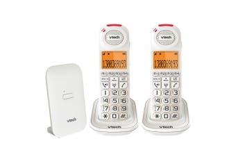 Vtech CareLine Landline 2 Handset DECT6.0 Cordless/Wireless Phone w/Vsmart 18450