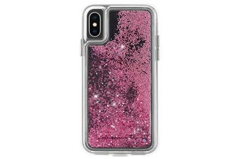 Case-Mate Waterfall Street Case Phone Cover For Apple iPhone X/Xs Rose Gold