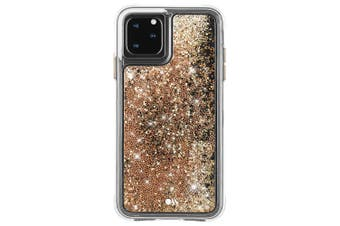 Case-Mate Waterfall Case Phone Cover For Apple iPhone 11 Pro Gold