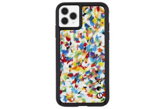 Case-Mate Eco Reworked Case Phone Cover For iPhone 11 Pro Max Rainbow Confetti