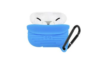 Case-Mate Tough Case Waterproof Cover for Apple AirPods Pro w/Carabiner Clip BLU