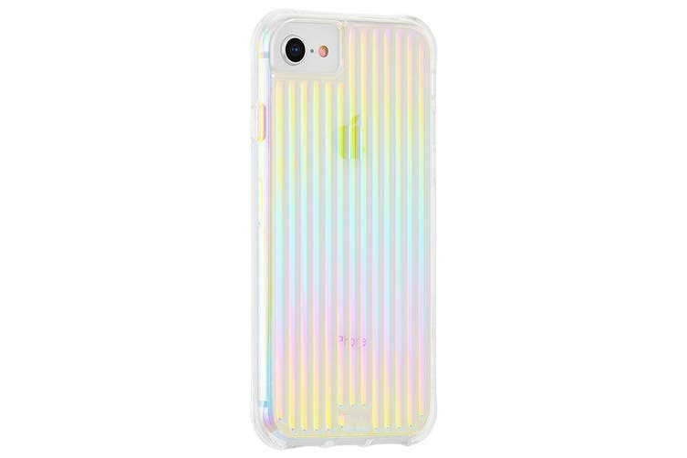 Case-Mate Tough Groove Case Phone Cover For Apple iPhone SE\8\7\6s\6 Iridescent