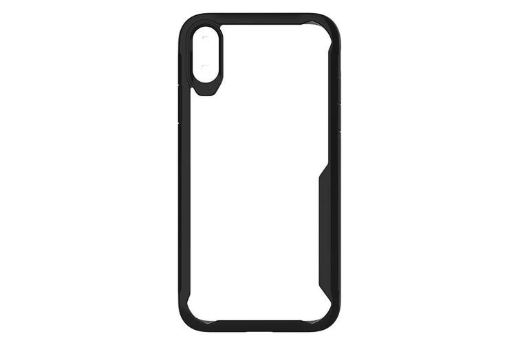 Cleanskin ProTech PC/TPU Case Phone Cover For Apple iPhone X/Xs Clear / Black