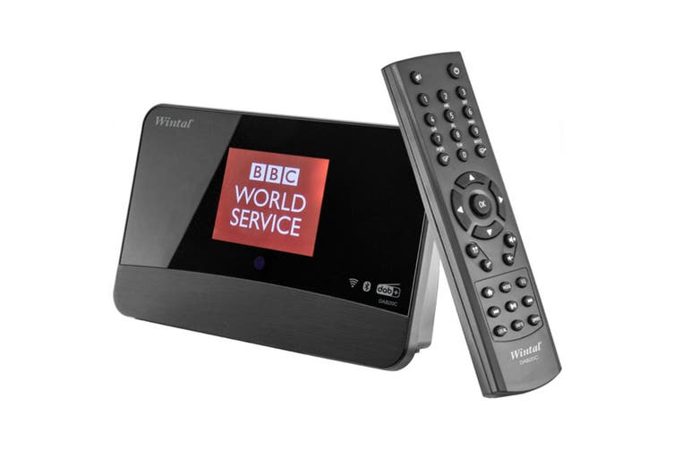 Wintal Bluetooth DAB+ & Internet/FM Radio Tuner/Alarm Clock Radio UPNP/DLNA BLK