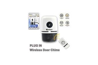 Plug In 150m Wireless Door Bell Chime Alert Ring Alarm Doorbell w 48 Music tones