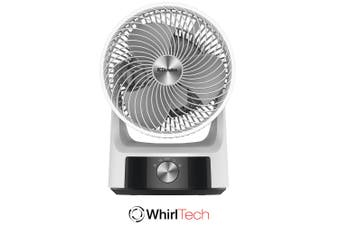 Dimplex DCACM20 Whirl Air Circulator/2 Speed/Cooling/Cooler/Oscillating White