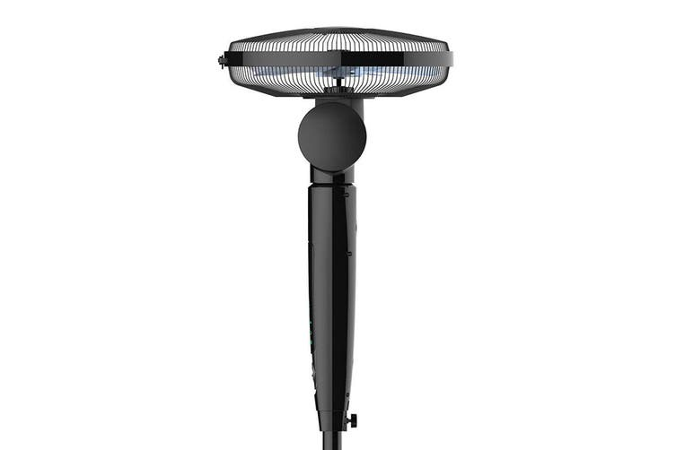 Dimplex 40cm Oscillating Pedestal 3 Speed Air Cooling/Cooler Fan/ 8h Timer Black