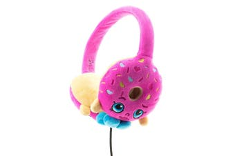 Shopkins Plush Kids Headphones/Headband for Audio/DVD/MP3/iPad D'Lish Donut