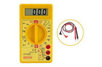 LCD Digital Multimeter Power Tester Multi Electricity/Current Meter Volt Amp Ohm