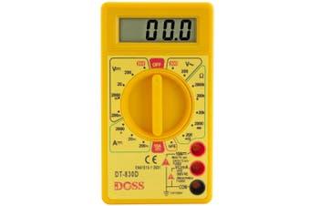 LCD Digital Multimeter Power Tester Multi Electricity/Current Meter Volt Amp Ohm