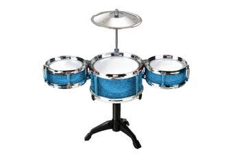 Desktop Music Drum Kit Kids/Children Playset Musical Instrument Play Toy 8y+ BL