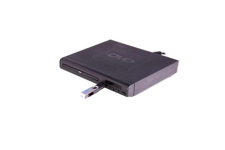 Laser Multi-Region CD/DVD Player/USB/HDMI Port/Composite/RCA Free Zone Code BLK