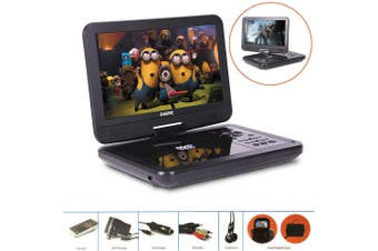 "Laser DVD/USB Player Portable 10"" Screen Multi region/All Region/free zone code"
