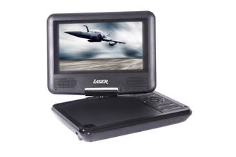 "Laser USB/DVD Player Portable/Car /LCD 7"" Screen Multi Region/All/Free Zone Code"