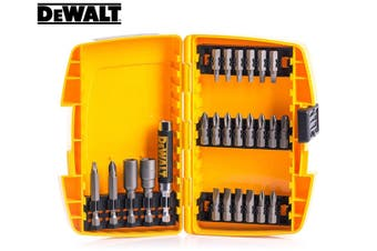 DeWalt 25pc Screwdriver/Philips/Nut Driver Bit Tip Set Hand Repair Tool Kit Case