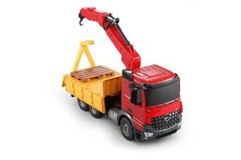 Mercedes Benz Arocs 1:20 56cm RC Remote Control Crane Truck w/Charger Kids 6+ Rd