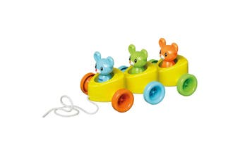 Tomy Cheesy Riders Mice/Mouse Pull Along Educational Toys Baby/Kids/Toddler 12m+
