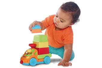Tomy Pack and Stack Play Truck w/ Sounds For Infant/Baby/Kids Fun/Game/Toy