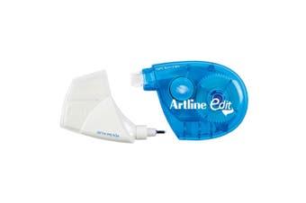 Artline Edit 2-In-1 Correction 5mm Tape/5ml Fluid Pen School/Office Corrector BL