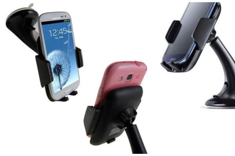 GEN. Samsung Car Mount Phone Holder Dock for Galaxy S9 S8 Plus S7 Note/iPhone X