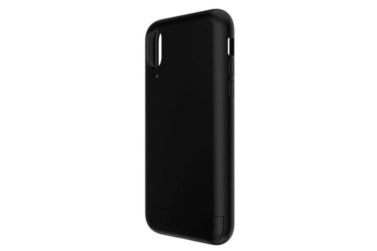 EFM Aspen Card D3O Case Armour Slim Protection Cover for Apple iPhone X/XS Black