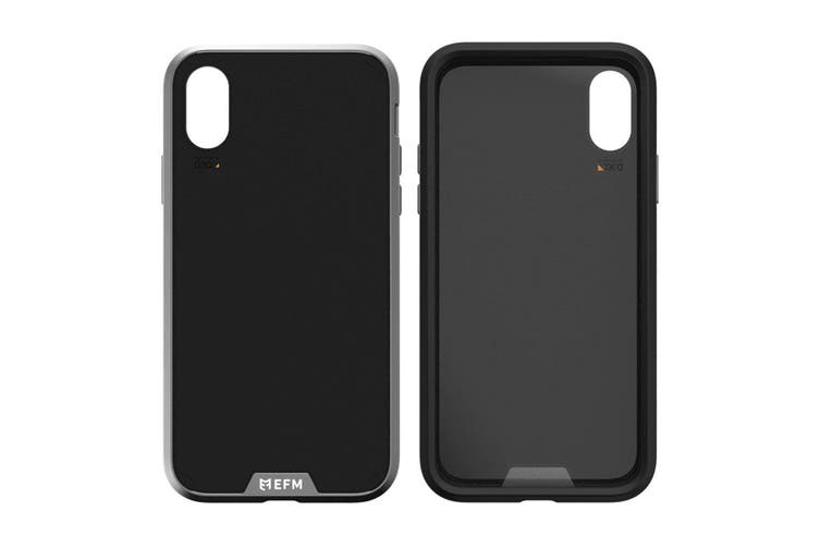 EFM Verona Leather D3O Case Armour Cover Protection for Apple iPhone X/XS Black