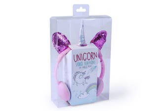 Unicorn Headband Stereo Headphones/Earphones 3.5mm for Tablets/Phone Girls/Kids