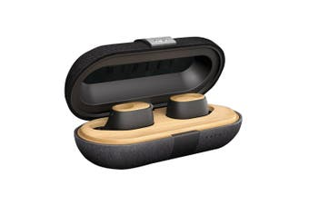 Marley Liberate Air Wireless Bluetooth 5.0 In Ear Earphones Black/Charging Case