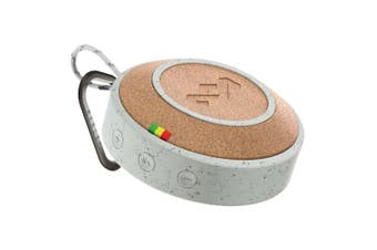 House of Marley No Bounds Portable Wireless Bluetooth Audio Speaker w/ AUX GRY