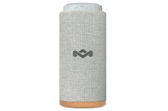 House of Marley No Bounds Sport Wireless Bluetooth Audio Speaker w/ AUX In Grey