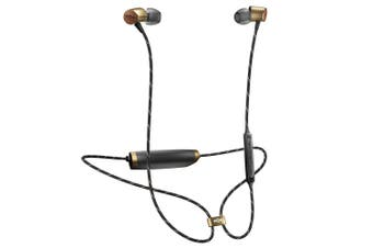 House of Marley Uplift 2 Wireless Bluetooth Earphone w/Mic for Smartphones Brass