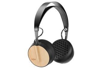 Marley Buffalo Soldier Wireless/Bluetooth On-Ear Wooden Headphones w/ Mic Mist