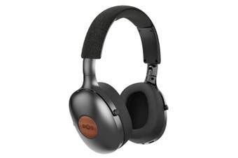 House of Marley Wireless Bluetooth Positive Vibration XL Over-Ear Headphone BLK