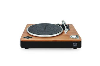 House of Marley Stir It Up Wireless Bluetooth Turntable/Vinyl Record Player BLK