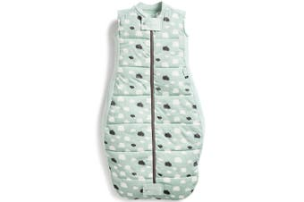 ErgoPouch Organic/Cotton 3.5 TOG Sheeting Sleep Bag 2-12 M for Baby/Infant Mint