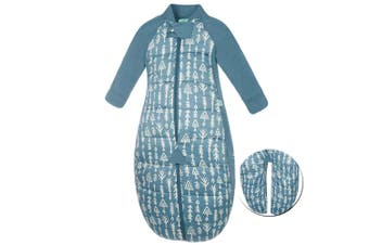 ErgoPouch Baby Sleep Suit Swaddle 2-12m/2.5 TOG/Organic Cotton Midnight Arrows