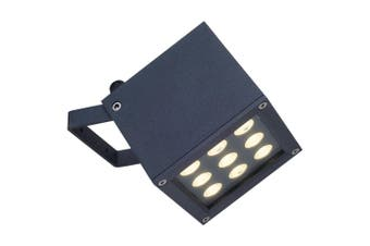 Crompton 9 x 1W LED Weather Proof Flood Light Outdoor Lighting BBQ/Security